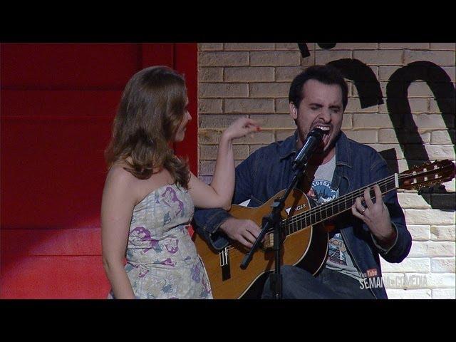 Marcos Castro no Show de Abertura da Semana da Comédia