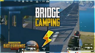 TOP 3 BEST TIP & TRICK FOR BRIDGE CAMPING IN PUBG MOBILE | 😨😱😲