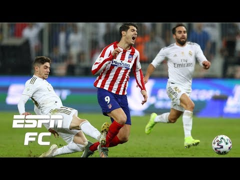 Would you make Federico Valverde's red card tackle in Real Madrid's Super Cup win? | Extra Time