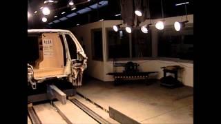 Crash Test Of Vehicle Shelving System Made Of Plywood