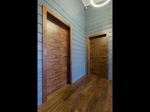 Межкомнатные двери американский орех - обзор от Woodexspb.ru