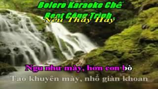 Karaoke Chế Hoa Cài Mái Tóc Remix Beat Hay