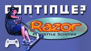 Razor Freestyle Scooter (PS1) - Continue?