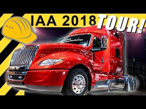 IAA 2018 TOUR! Neue LKW, Transporter und viel Elektro!