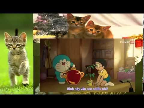 Hoạt Hình Doremon • Doremon Nobita và Truyền Thuyết Thần Rừng ► Doremon live ◄