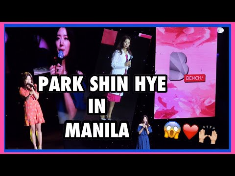 PARK SHIN HYE x Bench Fan Meeting in Manila 2017 VLOG 💗 (Fangirl feels 😱) | Raych Ramos