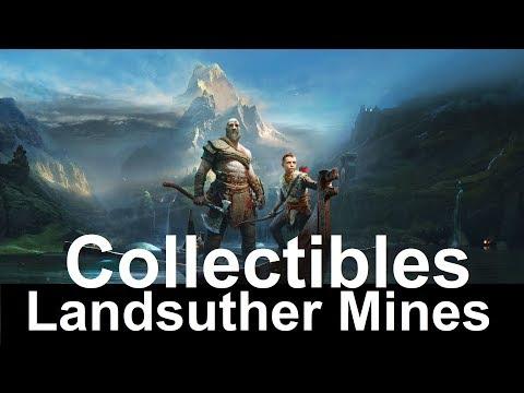 God Of War Landsuther Mines Collectibles Walkthrough