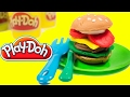 Play Doh burger playset by Unboxingsurpriseegg