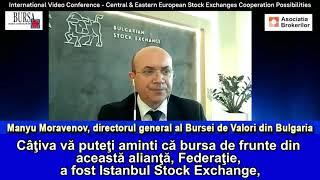 """""""Bursa de Valori din Bulgaria este deschisă oricărei discuţii despre cooperări regionale viitoare"""""""