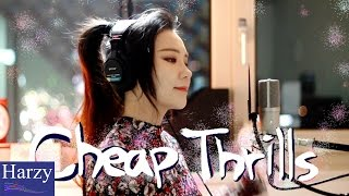 Gambar cover Cheap Thrills + Down (Cover by J.Fla) [1 Hour Version]