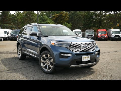 2020 Ford Explorer Platinum Review - Start Up, Revs, and Walk Around