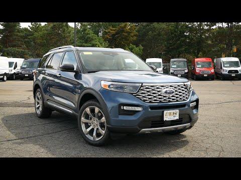 2020 Ford Explorer Platinum Review - Start Up, Revs, and Walk Around