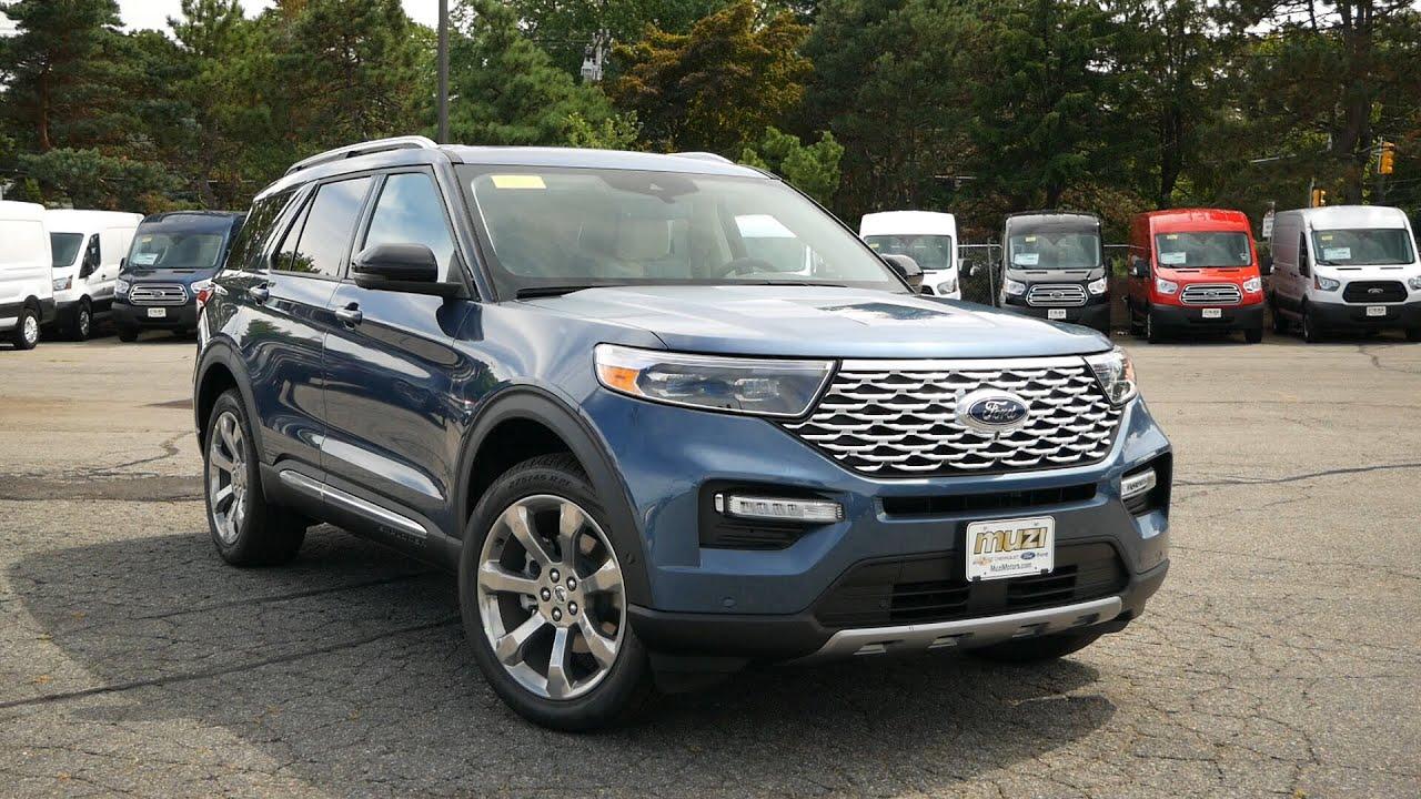 2020 Ford Explorer Platinum Review Start Up Revs And Walk Around