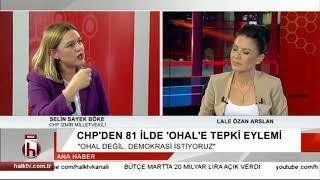 OHAL'e tepki eylemi - 16 Nisan 2018 - Selin Sayek Böke