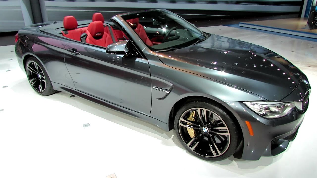2015 bmw m4 convertible exterior and interior walkaround debut at 2014 new york auto show. Black Bedroom Furniture Sets. Home Design Ideas