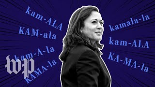 Opinion | You don't need to like Kamala Harris. But you should say her name properly.