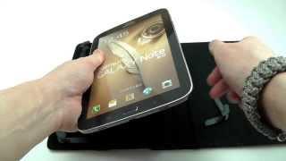 Обзор: Универсальный поворотный чехол для планшетов 8 дюймов на липучках | Электробум.com.ua