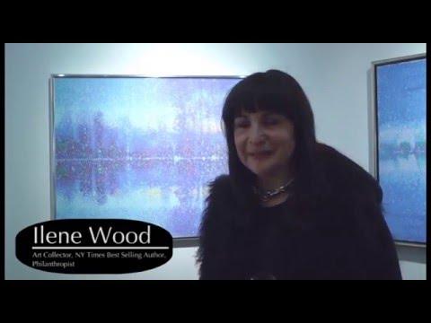 Ilene Wood Fine Art Collection: George Peter Paintings at Santa Bannon Fine Art Gallery