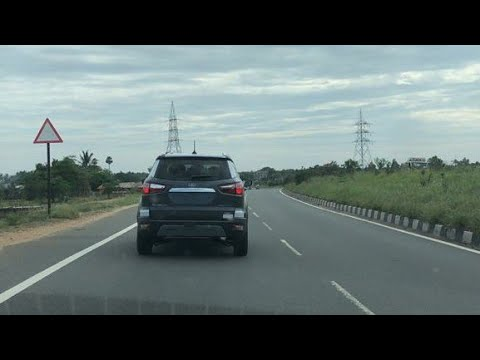 Ford Ecosport 4WD Spotted Testing - Chased in Maruti Suzuki Baleno !!