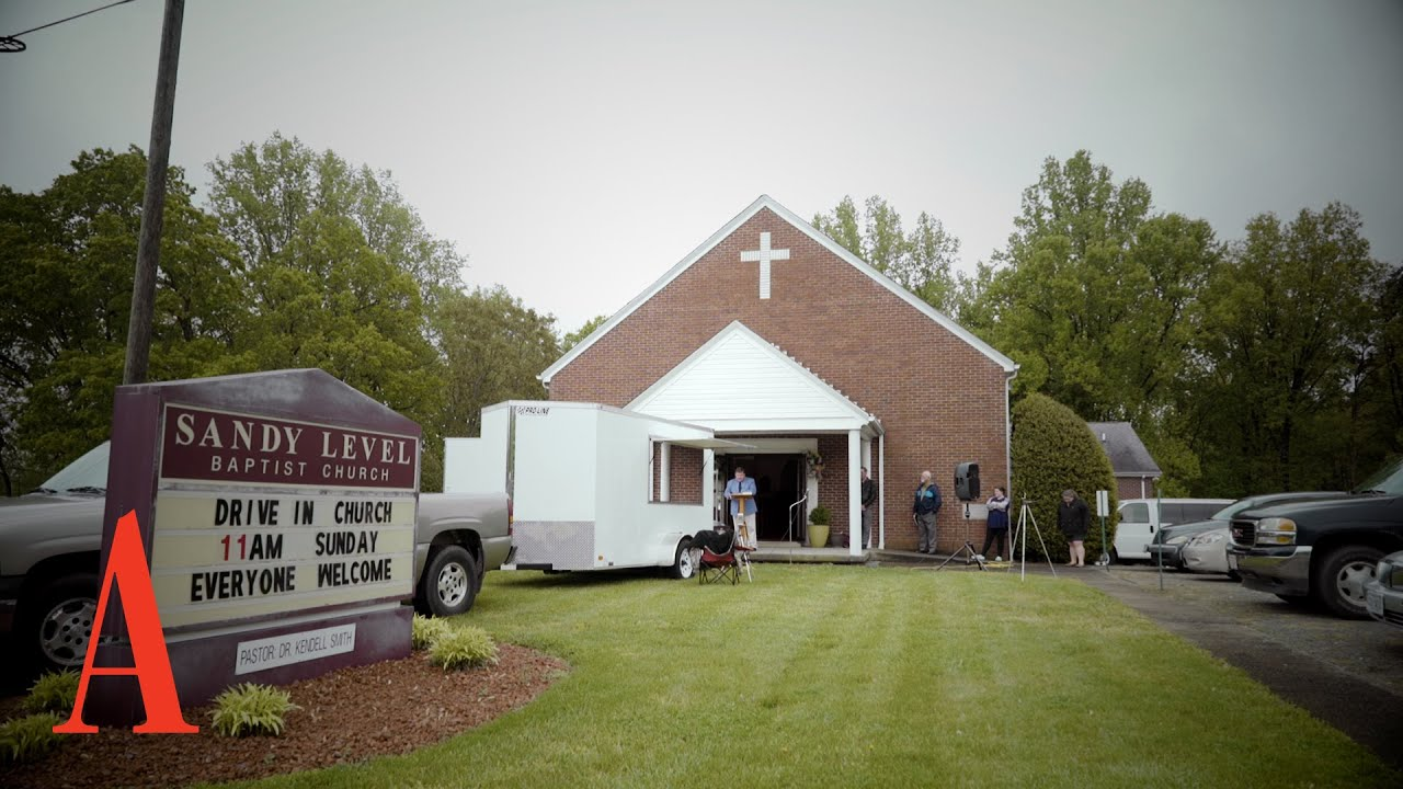 Inside a Drive-In Church
