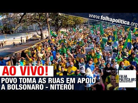O POVO BRASILEIRO CLAMA POR DEMOCRACIA - ESTAR NAS RUAS PARA EXIGIR TRANSPARÊNCIA E CONTRA GOLPE ARTICULADO CONTRA BOLSONARO
