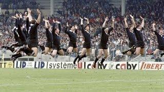 1986 Rugby Test Match: France v New Zealand All Blacks (1st Test)