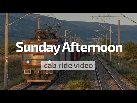 Cab Ride Bulgaria: Karnobat - Burgas with BDZ 45 171 & train 3623