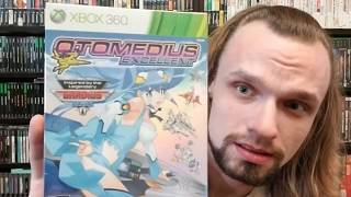 Otomedius Excellence Special Edition for Xbox 360 unboxing and reaction