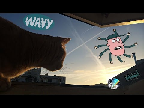 Wavy Scalar Tech Without The Chemtrailz (Chemical Instrumental Video Remix)