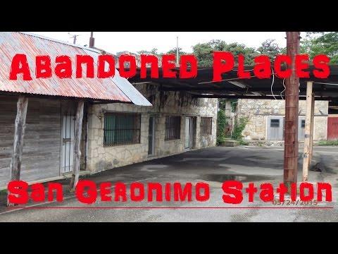 Abandoned Places - (San Geronimo Station, Texas)