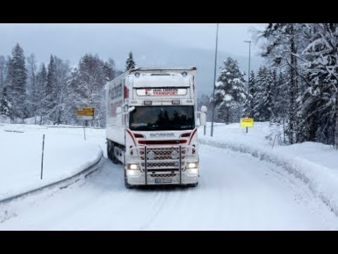 Norway - Ice Road Trucking