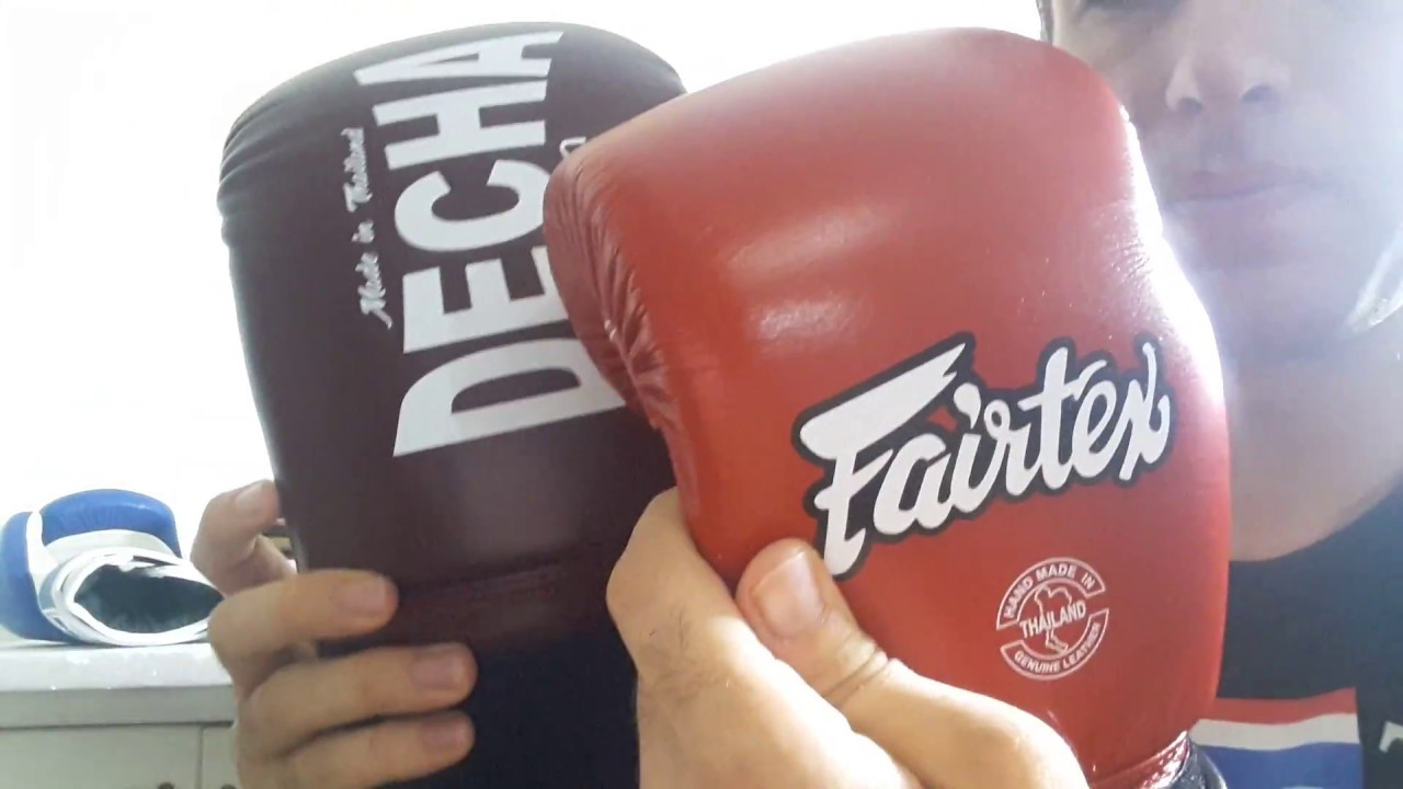 REVIEW 10 MUAY THAI BOXING GLOVES - YouTube