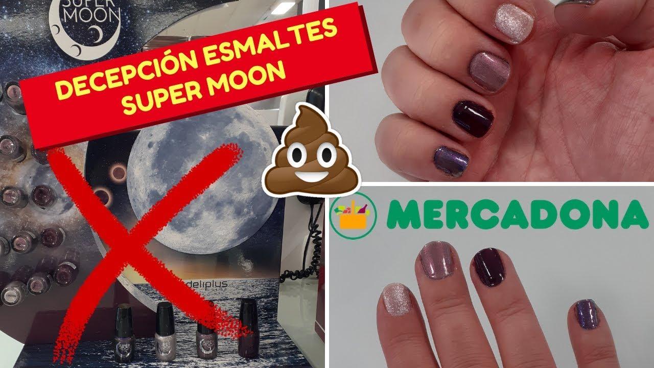 Decepciónes Mercadona Deliplus Esmaltes Uñas Super Moon Septiembre 2019