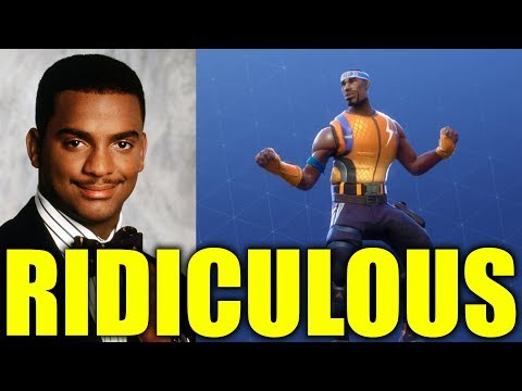 """Carlton Is Suing Fortnite For """"Stealing"""" His Dance Mp3"""