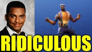 "Carlton Is Suing Fortnite For ""Stealing"" His Dance"