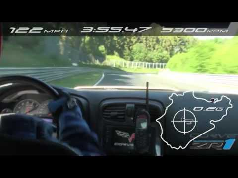 Chevrolet Corvette ZR1: Record Nurburgring 2012