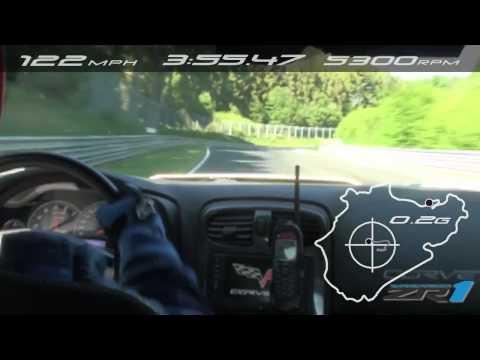 Chevrolet Corvette ZR1: Record Nurburgring 2012