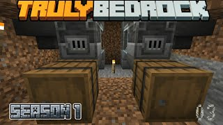 Truly Bedrock Episode 3: Setting up a furnace xp system and base design