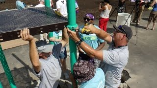 Disney And Community Leaders Build A Kaboom Playground In Central Islip
