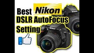 Best Nikon DSLR AutoFocus Setting for Video and Still