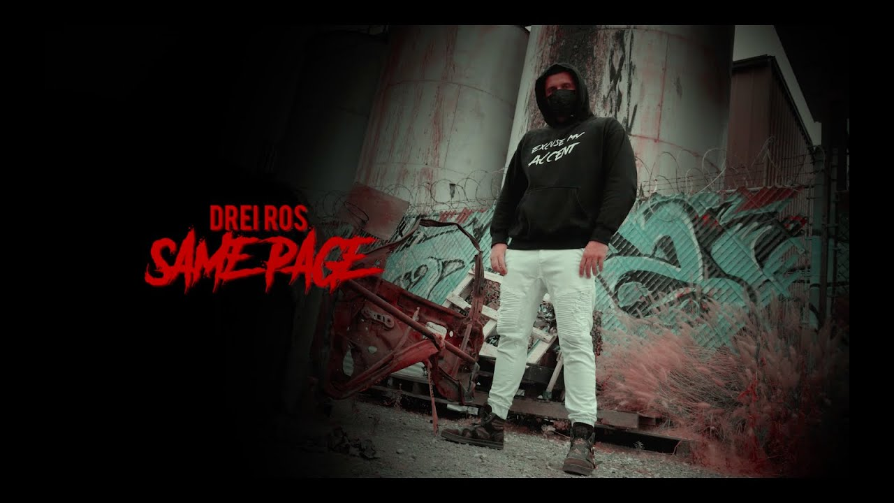 Drei Ros - Same Page (Official Video)