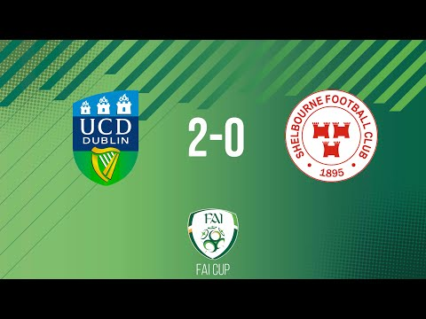 FAI Cup First Round: UCD 2-0 Shelbourne