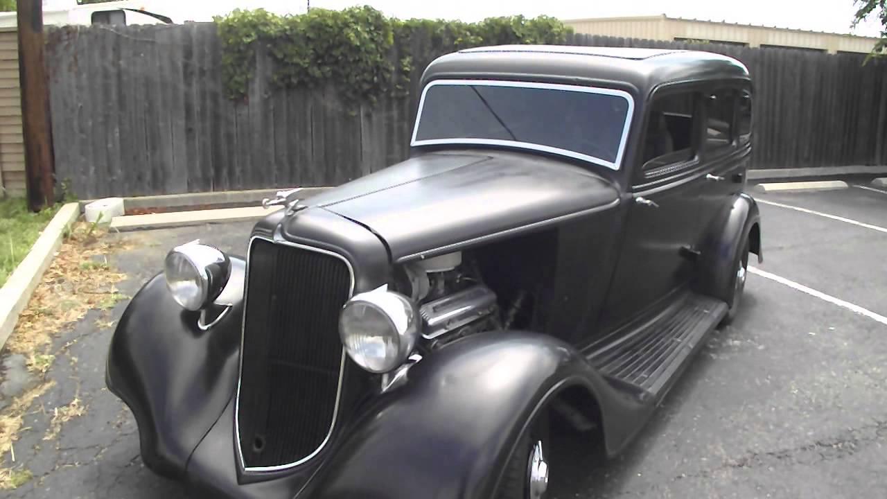 1934 Plymouth Pe Deluxe Sedan Youtube