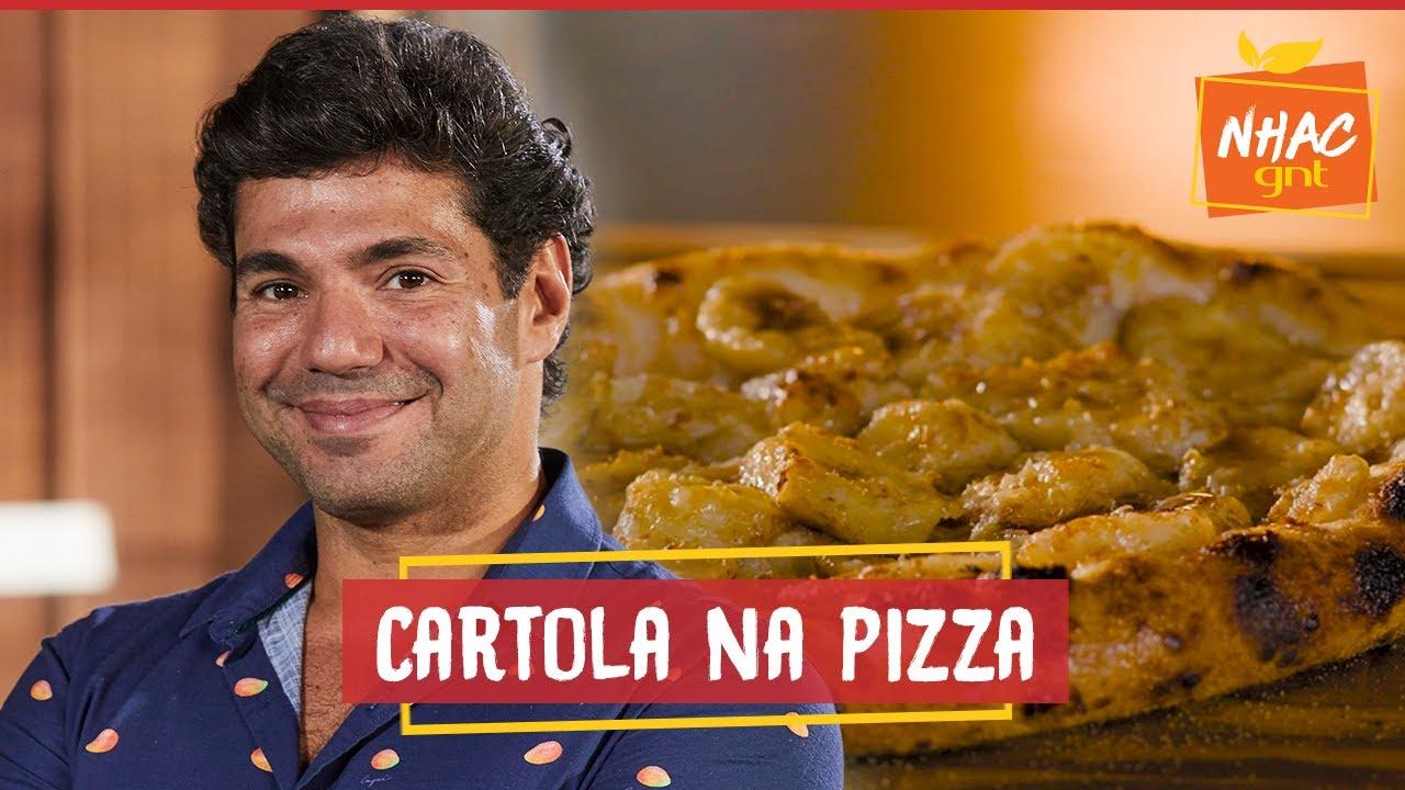 PIZZA CARTOLA leva banana, canela, queijo coalho e cachaça   Felipe Bronze   Perto do Fogo