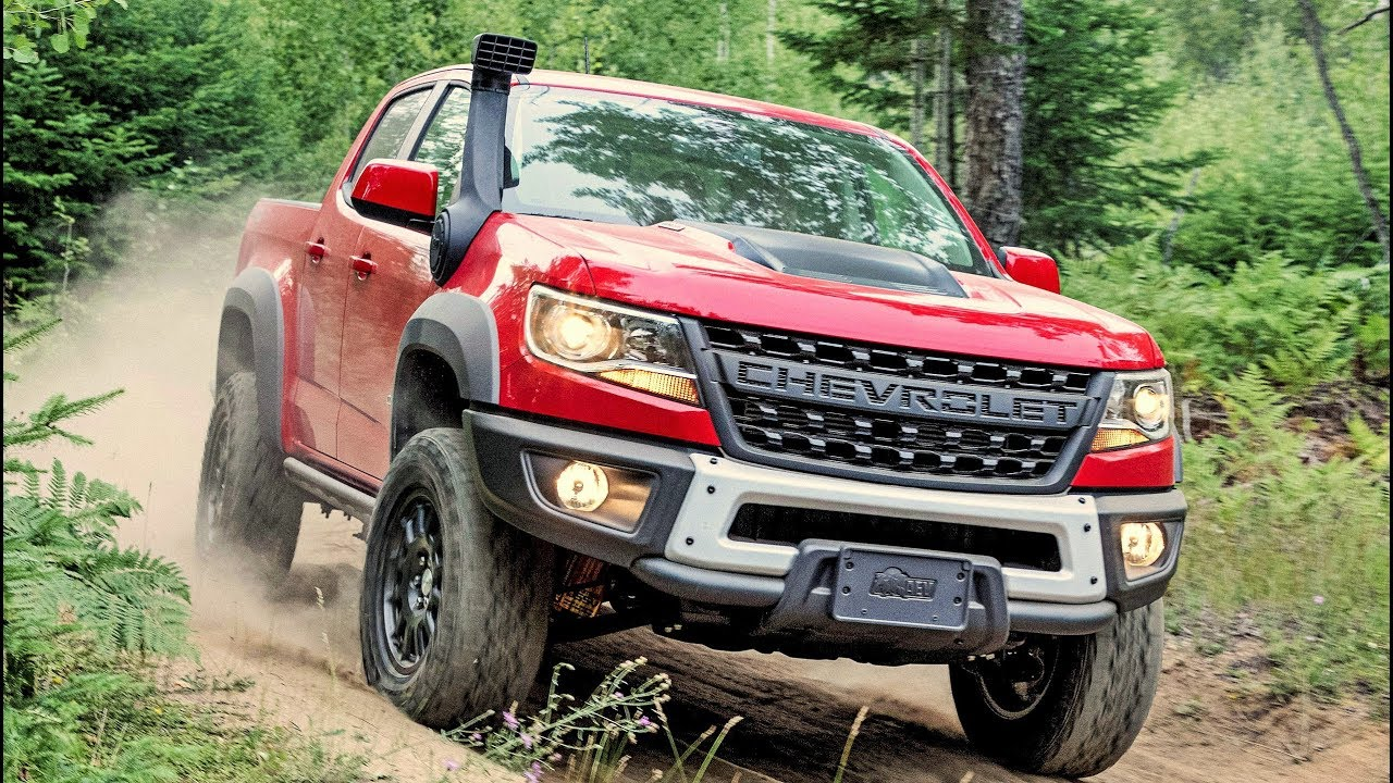 2019 Chevrolet Colorado ZR2 Bison - Modified For Extreme Off-Road - YouTube
