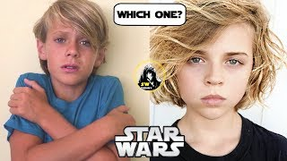 TOP Young Anakin Auditions Revealed! Help Me Choose Him! - Star Wars Theory Vader Fan Film