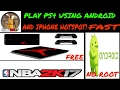 Play PS4 game using android mobile hotspot! Free!*no root *no install *no bs Free