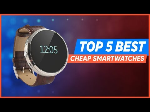 Top 5 Best Budget Smartwatches 2019 | Best Cheap Smartwatch Options