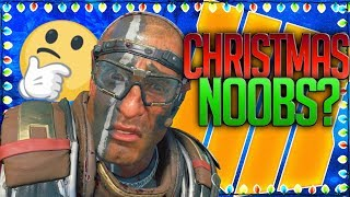 Black Ops 4 SEARCHING for CHRISTMAS NOOBS...