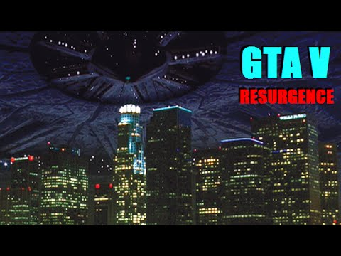 Independence Day Theory (UFO Contact) Livestream - GTA V Jetpack / Chiliad Mystery